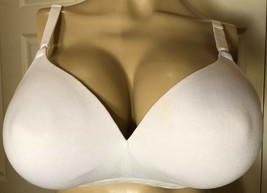 WARNER'S 40B White 40 B Wire Free 1269 COULD 9 Lined Seamless Bra - $11.88