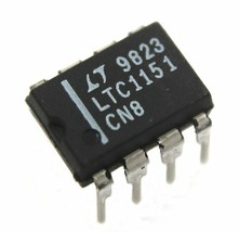 LTC1151 Zero Drift Operational Amplifier - Lot of 1, 5, or 10. - $6.60+