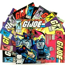 GI Joe 10 Comic Book Lot Marvel Snake Eyes Cobra Commander Serpentor Wil... - $29.65