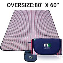 MIU COLOR Large Waterproof Outdoor Picnic Blanket, Sandproof and Waterpr... - $335,25 MXN