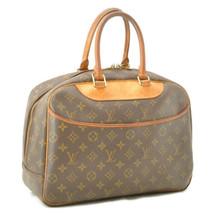 LOUIS VUITTON Monogram Deauville Hand Bag M47270 LV Auth cr197 - $320.00