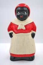 Vintage Aunt Jemima Ceramic Reproduction Piggy Bank Ethnic Collectible A... - $29.68