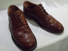 JOHNSTON AND MURPHY HAND MADE IN ITALY SZ. 10M OXFORDS, EUC - $29.70
