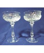 Mikasa Canterbury Crystal Stemware Champagne/Tall Sherbet Cut Glass Set ... - $29.99