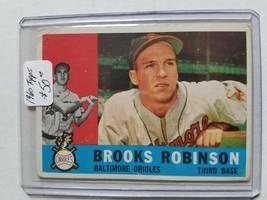 1960 Topps #28 Brooks Robinson : Baltimore Orioles - $40.80