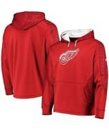 DETROIT RED WINGS MAJESTIC NHL Men's Armor ThermaBase Hoodie Sweatshirt ... - $39.99