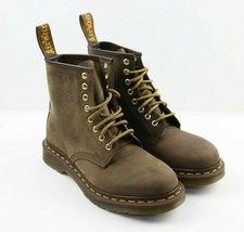 Unisex Dr. Martens Aztec 1460 Boot - Crazy Horse/Brown, Size Mens: 7\Wom... - $118.79