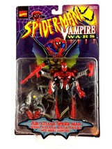 Spider-Man Air Attack Action Figure Marvel ToyBiz Vampire Wars 1996 New ... - $14.80