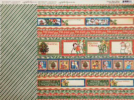 Graphic 45 Christmas Magic 12x12 Cardstock Sheets and Sticker Sheet image 8