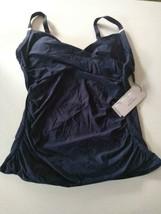 Calvin Klein Blue Swimwear Top Size Small image 1