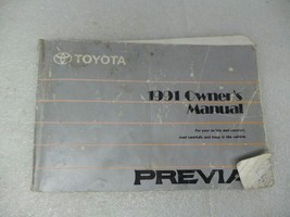 Toyota Previa 1991 Owners Manual 17232 - $13.81