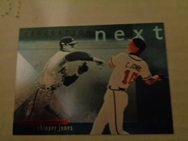 Chipper Jones 1997 Upper Deck UD3 Generation Next GN10 Baseball Card NM/... - $2.69