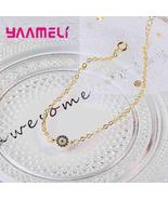 Fashion Simple Style Women Bangles For Lady 925 Sterling Silver Jewelry ... - $8.08
