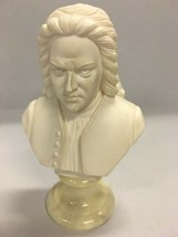 VINTAGE Bust  Bach Italy signed  A.Gionnelli alabaster marble Italian fi... - $148.49