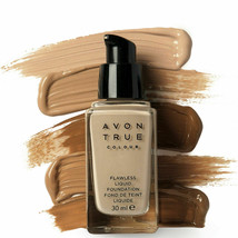 Avon True Colour Flawless Liquid Foundation SPF15 -1 oz - 30 ml / CREAMY NATURAL - $19.95