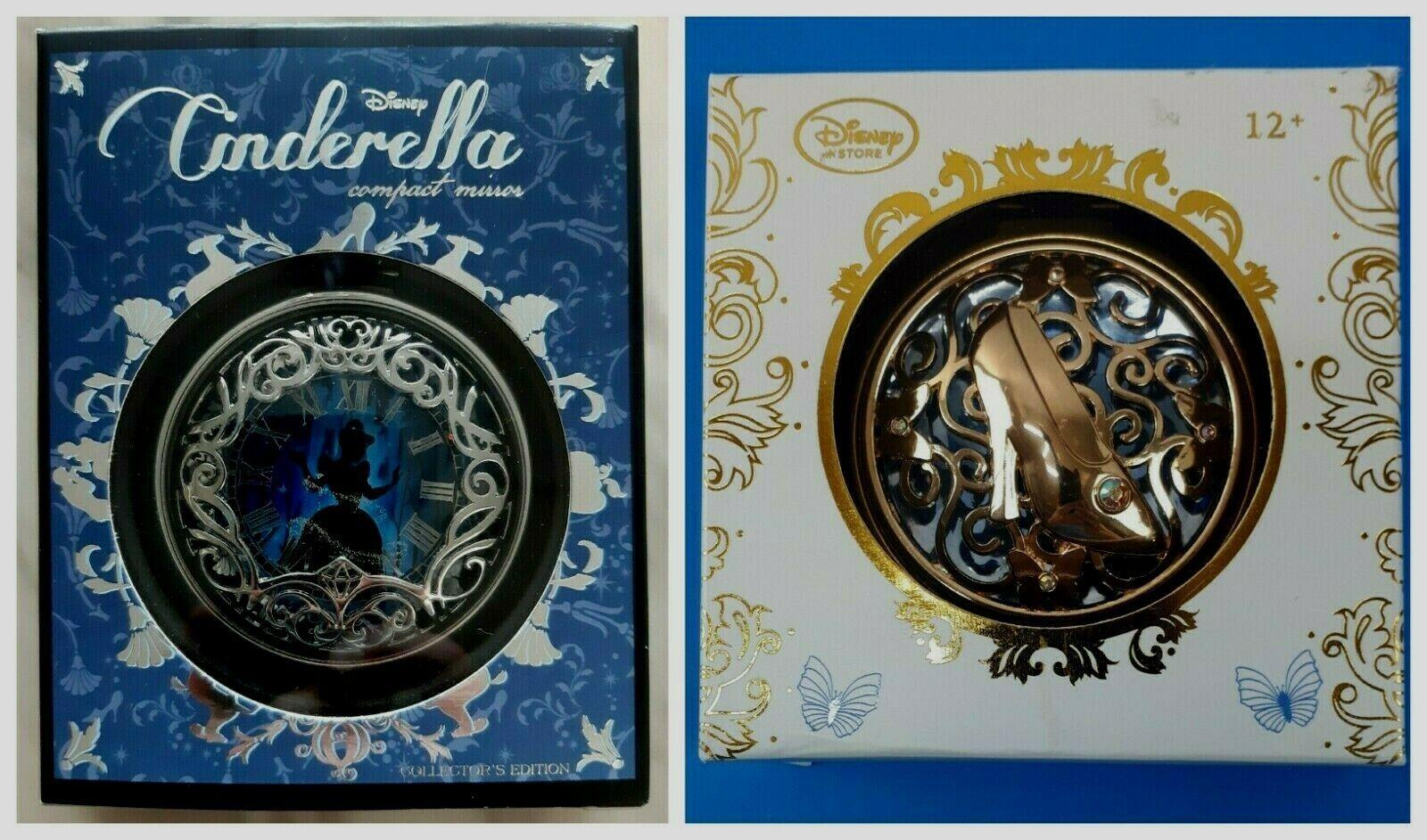 2 Disney Cinderella Compact Mirrors Dual Sided - $69.95