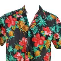 Royal Creations Floral Hibiscus Flowers Pineapples Large Hawaiian Aloha ... - $37.57