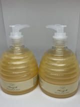 2 Scottish Fine Soaps HONEY B Cream Hand Wash Soap Liquid 10.5 oz - $21.77