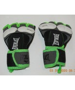 Everlast Training Gloves Size Medium Boxing MMA Green - $14.85