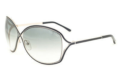 Primary image for Tom Ford Rickie Gold Black / Gray Gradient Sunglasses TF179 01B