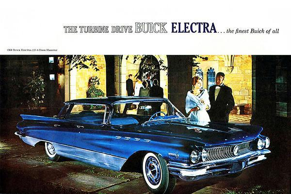 Primary image for 1960 Buick Electra 225 4-Door Hardtop - Promotional Advertising Poster