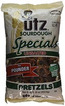 Utz Sourdough Specials Unsalted Pretzels, 16 Ounce - $15.99