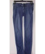 Women's Hollister Jeans Skinny Stretch Size 00 R W 23 L 29 BEST OFFERS W... - $18.99