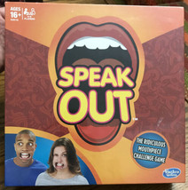 NEW SPEAK OUT RIDICULOUS MOUTHPIECE CHALLENGE GAME HASBRO - $7.59