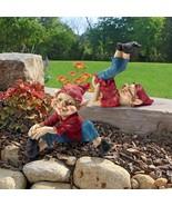 Eccentric Elves Garden Gnome Statues - $62.95