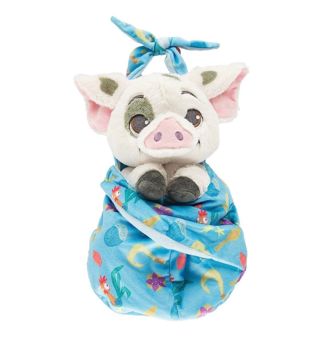 Disney Parks Baby Pua in a Blanket Pouch Plush New with Tags