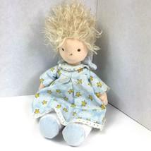 "Ty Angeline Plush Angel Doll 10"" Blue Dress Blonde Angel 2004 Lovey Reti... - $12.82"