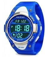 Boys Sport Digital Watch, Kids Outdoor Waterproof Electronic Watches Wi... - £24.10 GBP