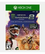 NEW SEALED Monster Energy Supercross 2 XBox One Video Game - $21.77
