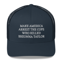 Make America Arrest The Cops Hat / Make America Arrest The Cops / Trucker Cap image 7