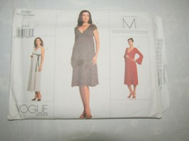 VOGUE Maternity Sewing Pattern Semi Fitted Dress Sz 18/20/22 #2750 - $14.69