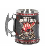 Nemesis Now Five Finger Death Punch Tankard 15cm, Resin w/Stainless Stee... - $55.39
