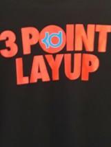 Kevin Durant 3 Point Layup Nike Dri Fit shirt sz L - $24.70
