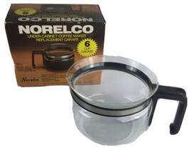 Norelco 6 Cup Replacement Carafe #RP11 Under Cabinet Coffee UC6000/60001... - $11.87