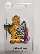 Disney Parks Holiday Christmas 2020 Muppets Fozzie Bear And Gonzo Pin Ne... - $17.81