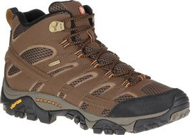 Merrell Moab 2 Mid GORE-TEX Hiking Boots (Men's) in Earth - NEW - $160.61