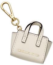 $58 Michael Kors SELMA Handbag Purse Tote Bag Leather Key Fob Chain Char... - $38.00