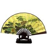 Bamboo Handheld Folding Fan Chinese Silk-Like Folding Fan Home Decoratio... - $15.76