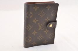 Louis Vuitton Monogram Agenda Pm Day Planner Cover R20005 Lv Auth 7292 - $130.00