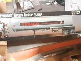 VINTAGE AMT/ERTL 30063 TEXACO FRUEHAUF TANKER TRAILER 100% COMPLETE IN O... - $65.45