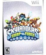 Skylanders: Swap Force (Nintendo Wii U 2013) DVD and Case (no Portal o... - $7.90