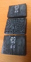 Double Crypt Door (Set of 3) 28mm scale pre painted Dungeon Game Terrain Accesso