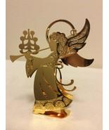 "1988 ""Herald Angel"" Danbury Mint Gold Christmas Ornament  - $14.95"