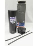 Simple Modern Sacramento Kings NBA Insulated Tumbler W Two Lids & Straws... - $14.99