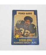 1975 Topps Ville Parler All-Star Séries #17 Franco Harris Steelers Carte - $12.85