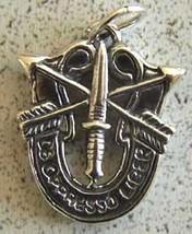 Special Forces Charm Heavy Sterling Vietnam to Current      - $20.00